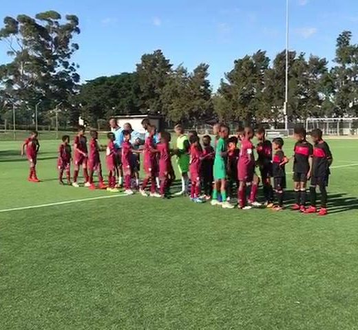 SFC HP Academy teams taking on Ubuntu Cape Town FC at Lentelus this morning.…