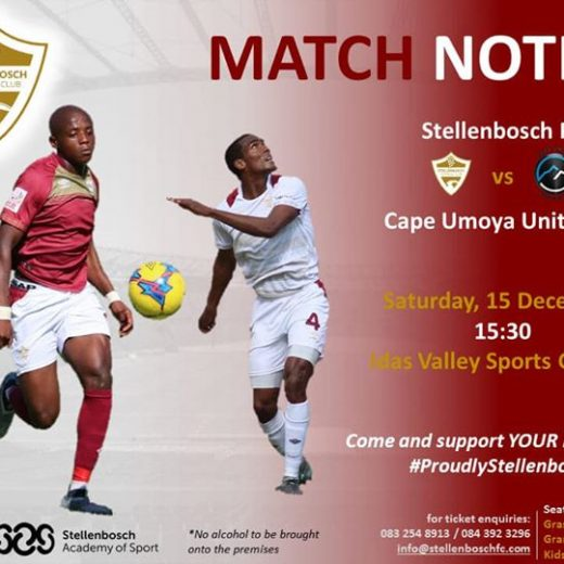 Our last home game for the year is tomorrow! Hope to see you all…