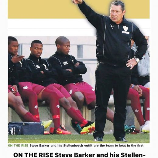 Unsung hero Barker moulds Stellies FC