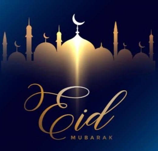 Blessed Eid Mubarak to all out Muslim followers