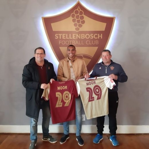 Amped to welcome @ryan__moon to the #proudlystellenbosch #stellenboschfc family!