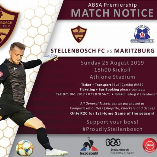 NEWS ALERT Tickets for our #absaprem match this Sunday against @maritzburgutd is available on…