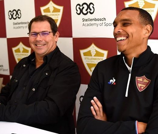 Had our first ever presser today! #stellenboschfc #proudlystellenbosch #sashp